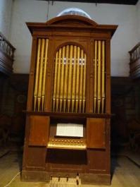 Tacoronte, órgano inglés de 1856 Bevington & Sons