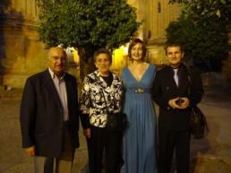 Con Adalberto y su esposa